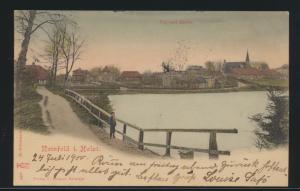 Ansichtskarte Reinfeld Holstein nach Wiesbaden 24.7.1900