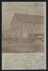 Foto Ansichtskarte Körbisdorf Wüstung Saalekreis Sachsen Anhalt Lesse 21.11.1898