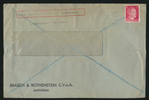 Deutsche Dienstpost Luftgaupostamt Niederlande Brasch & Rothenstein Amsterdam