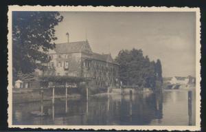Ansichtskarte Konstanz Insel Hotel  Bahnpost nach Hamburg