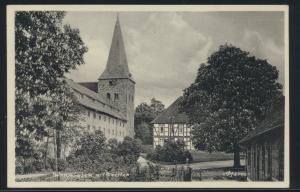 Ansichtskarte Wennigsen Deister nach Harburg Kirche 7.4.1934