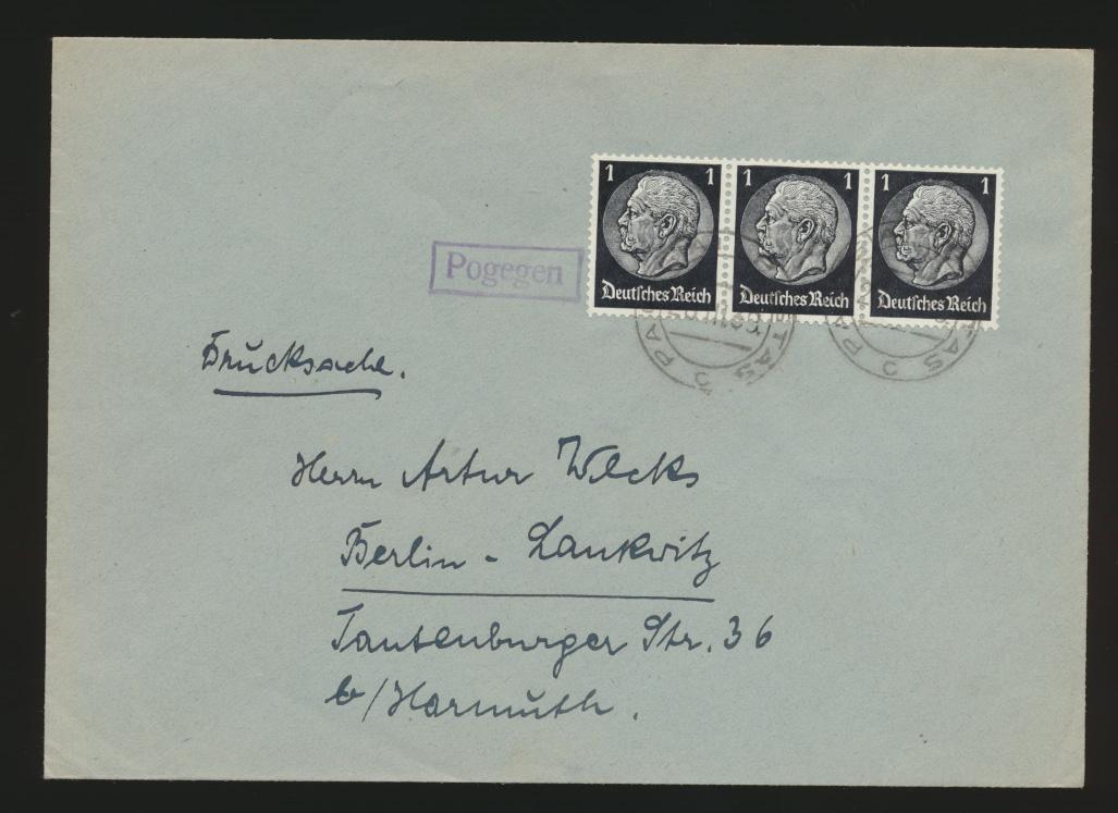 Besetzung R1 Pogegen neben K2 Pagėgiai Litauen nach Belin MEF Reich 512 0