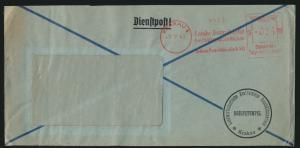 Deutsche Besetzung Generalgouvernement Brief Absenderfreistempel Krakau ABS 024