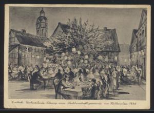 Bahnpost Ansichtskarte Einbeck Sitzung Nachbarschaftsgemeinde Salzderheiden Zug