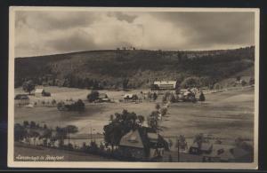 Ansichtskarte Rehefeld ab DRESDEN A 2 Stempel Sachsen weiße Flotte Schlachtensee