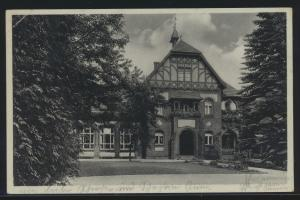 Ansichtskarte Belzig Parkhaus SST 1000 jährige Kreisstadt nach Berlin 22.1.1939