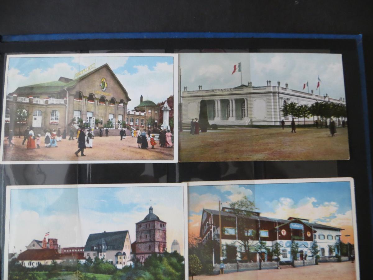 Ansichtskarten Sammlung Leipzig Weltausstellung Buch & Grafik 54 Stück  in Top - 1