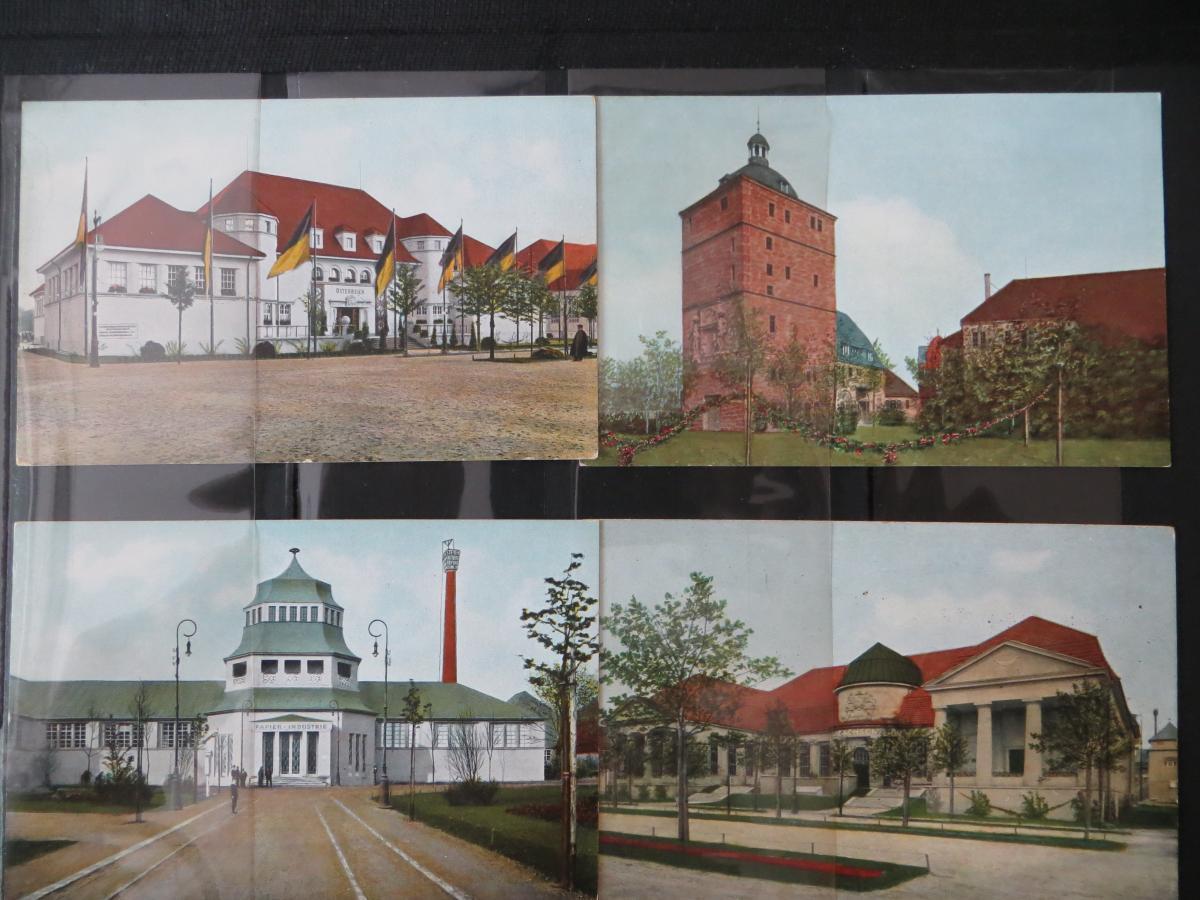 Ansichtskarten Sammlung Leipzig Weltausstellung Buch & Grafik 54 Stück  in Top - 4