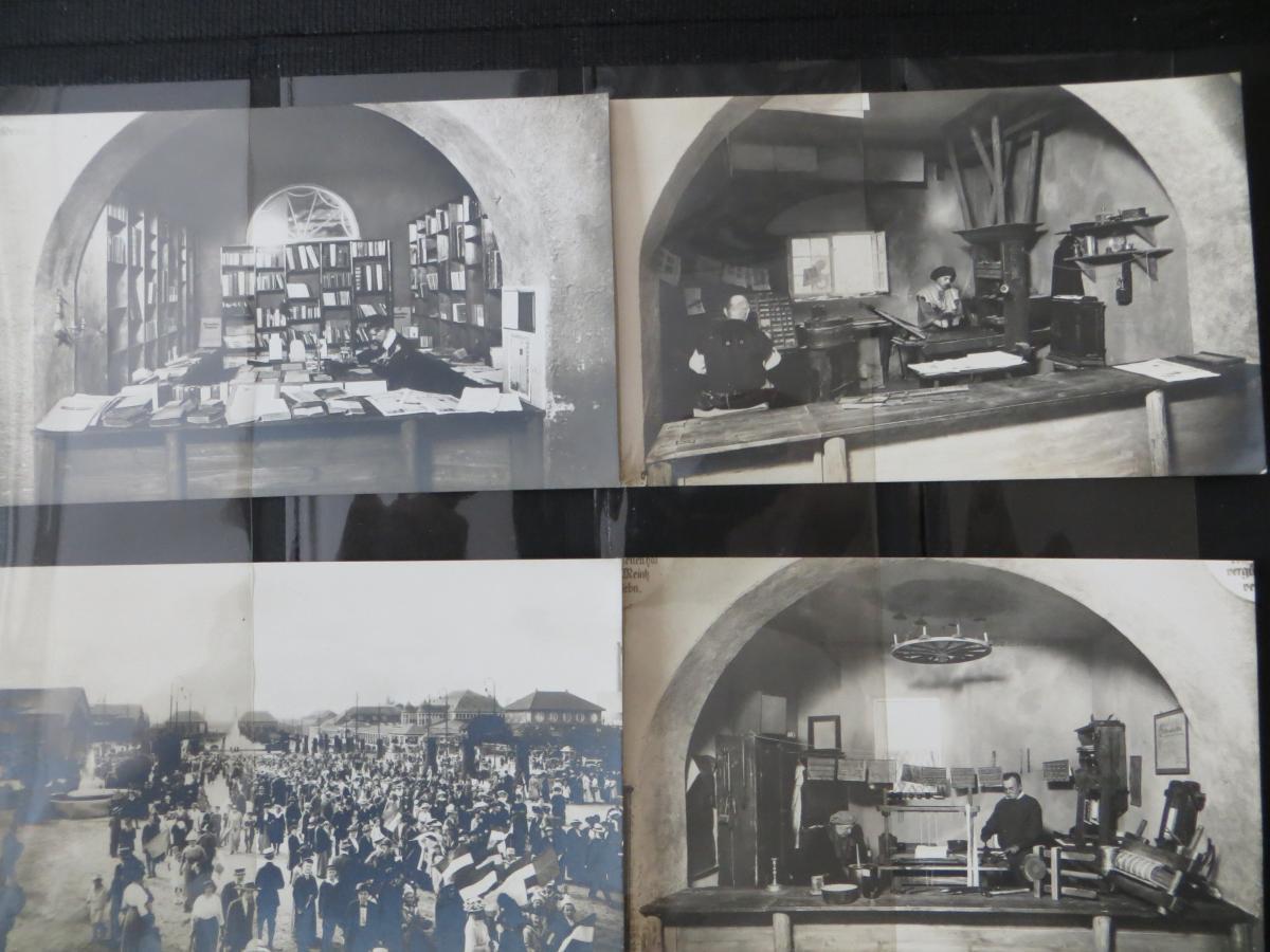 Ansichtskarten Sammlung Leipzig Weltausstellung Buch & Grafik 54 Stück  in Top - 6