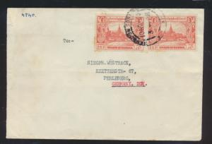 Asia Burma Myanmar Birma Brief MEF nach Perleberg Cover to Germany