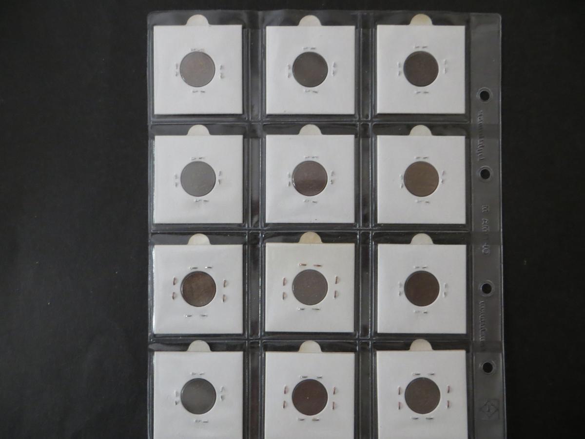 Münzen Niederlande Sammlung aus 1878-1934 1/2 + 1 cent 36 Stück gute bis sehr 5