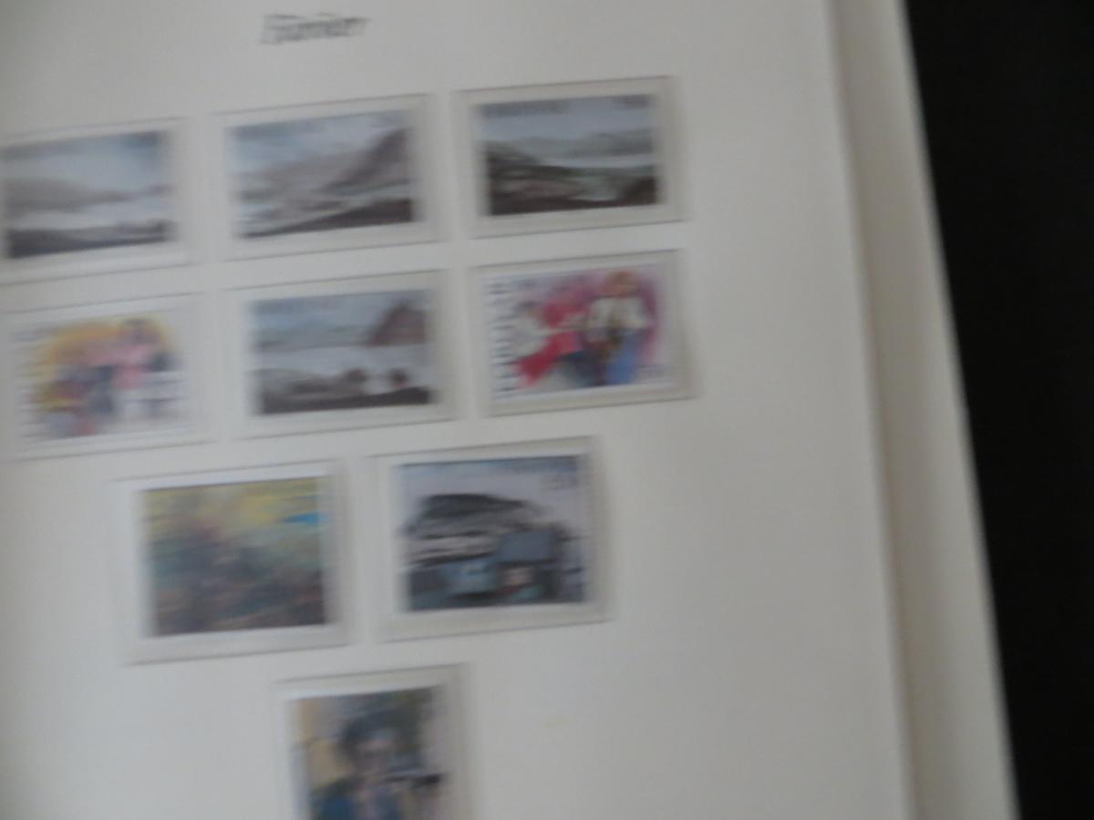 Färoer Luxus Sammlung 1975-1997 komlett posstfrisch auf Vordrucken Kat. 540,00 12