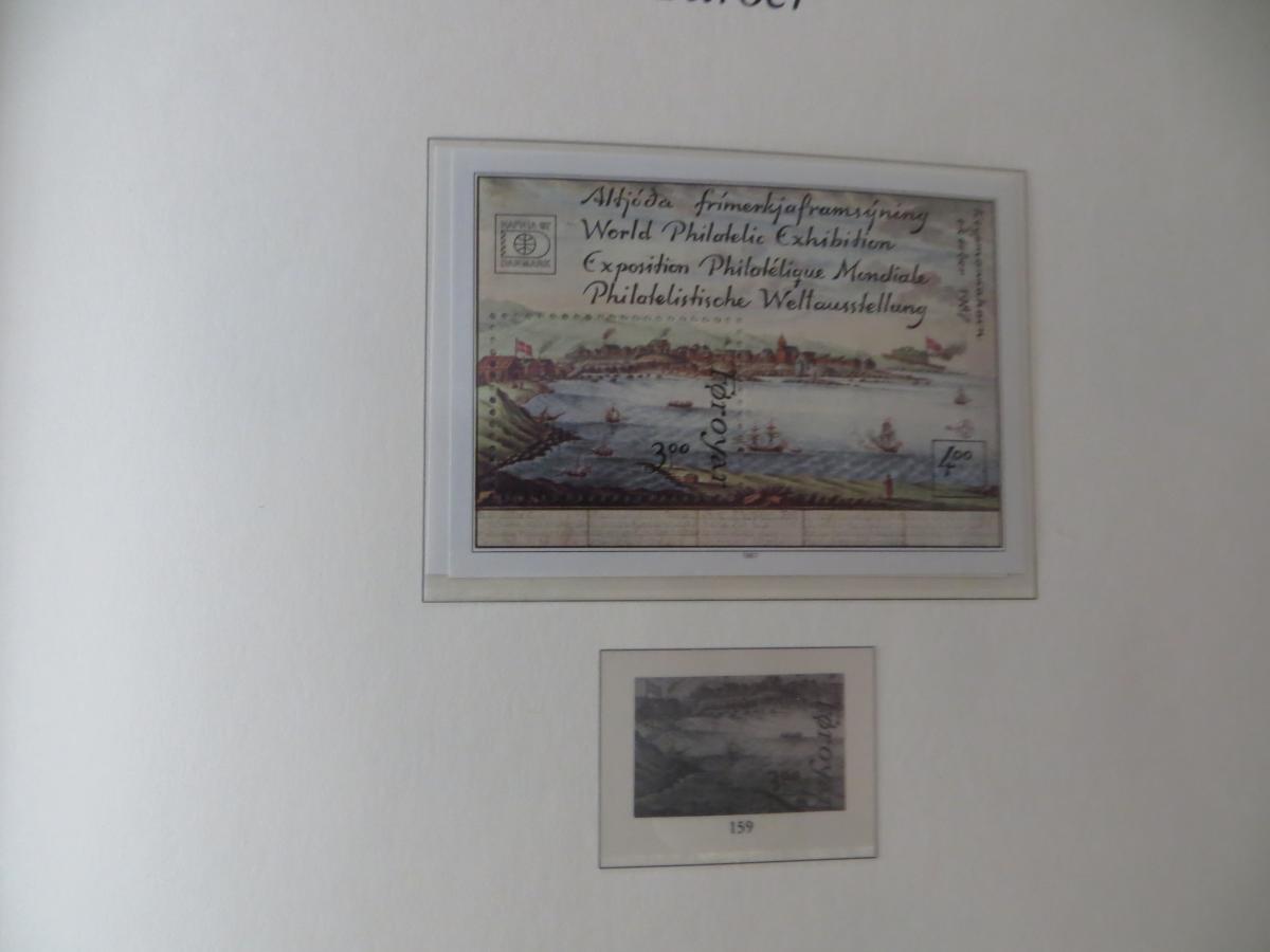 Färoer Luxus Sammlung 1975-1997 komlett posstfrisch auf Vordrucken Kat. 540,00 19