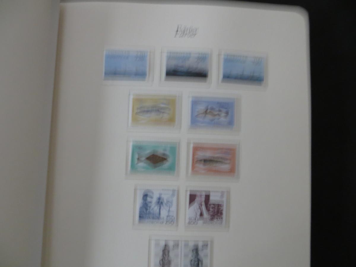 Färoer Luxus Sammlung 1975-1997 komlett posstfrisch auf Vordrucken Kat. 540,00 8