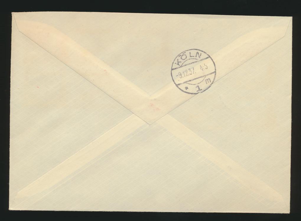 Reich Zusammendruck R Brief selt. SST Berlin 4x sauber abgeschlagen Tag der  1
