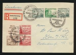 Reich Zusammendruck R Brief selt. SST Berlin Reichstag Bolschewismus ohne Maske
