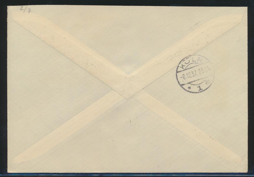 Reich Zusammendruck R Brief selt. SST Berlin Reichstag Bolschewismus ohne Maske 1