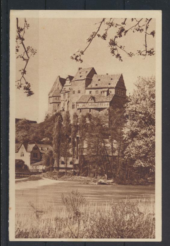 Ansichtskarte Limburg Lahntal Schloß Bild 185 Serie Das schöne Deutschland  0
