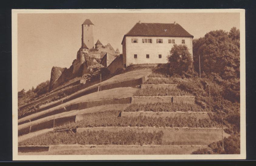 Ansichtskarte Burg Hornberg Neckar Bild 174 Serie Das schöne Deutschland  0