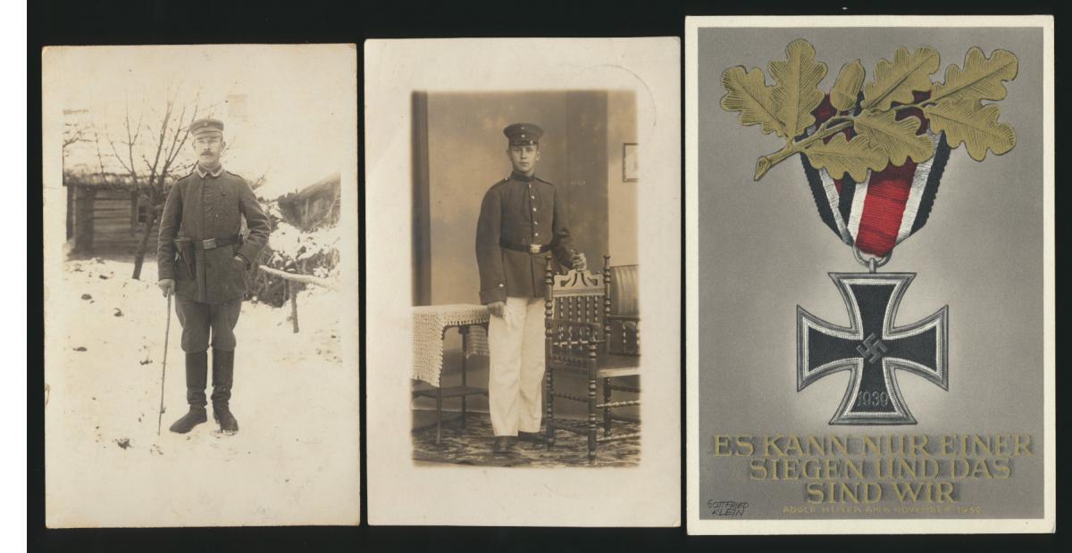 Lot meist 3. Reich Lot Ganzsachen + Foto Ansichtskarten gesamt 6 Stück Krieg 0