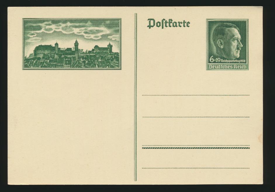 Lot meist 3. Reich Lot Ganzsachen + Foto Ansichtskarten gesamt 6 Stück Krieg 2