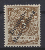 Deutsche Kolonien Deutsch-Neuguinea 1 Luxus postfrisch MNH Kat.-Wert 30,00 0