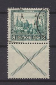 Deutsches Reich Nothilfe Bauwerke Zusammendruck S 80 gestempelt Kat.Wert 150,00