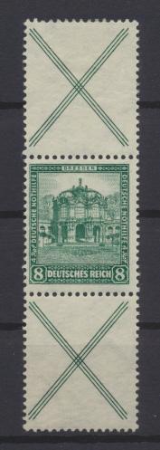 Deutsches Reich Zusammendruck Nothilfe Bauten S 95 ungebraucht Kat.-Wert 240,00 0