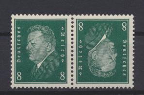 Deutsches Reich Zusammendruck Reichspräsidenten K 12 postfrisch Kat.-Wert 40,00 0