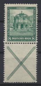 Deutsches Reich Zusammendruck Nothilfe Bauten S 92 ungebraucht Kat.-Wert 24,00