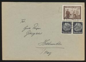 Deutsches Reich Brief MIF Kameradschaftsblock Hindenburg ab Hannover