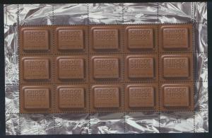 Schweiz 1759 Kleinbogen Schokolade Fabrikanten Chocosuisse postfrisch