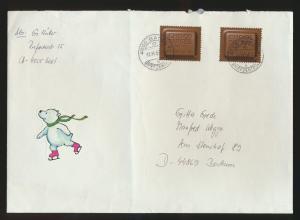 Schweiz Brief MEF 1759 Brief Schokolade Fabrikanten Chocosuisse Basel n. Bochum
