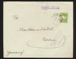 Palästina Brief EF nach Berlin