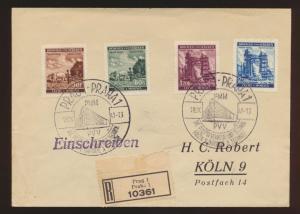Besetzung Böhmen & Mähren R Briefe MIF Prag nach Köln