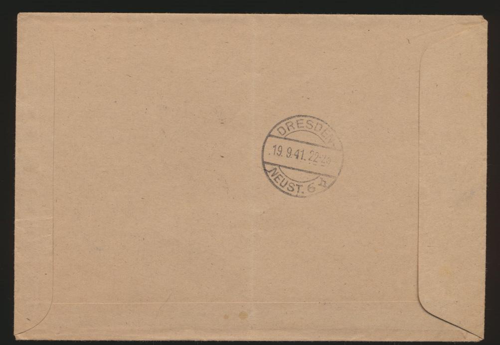 Postsache Deutsches Reich R Brief unfrankiert SST Hoppengarten Berlin Pferde  1