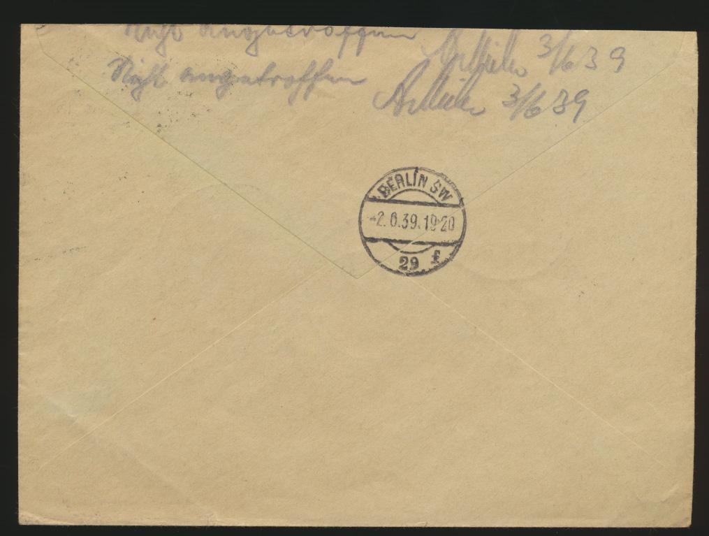 Deutsches Reich R Brief MIF Zusammendruck WHW + 3 selt. Propagnada SST Berlin 1
