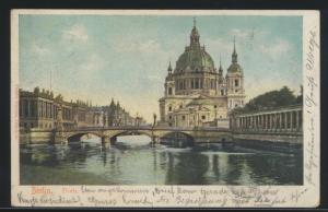 Ansichtskarte Berlin Dom nach Labiau Ostpreussen Polessk Russland