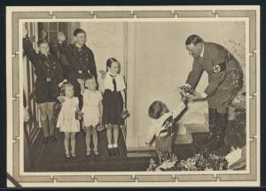 Deutsches Reich Propaganda Ganzsache P 278 04 13.4.1939