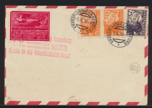 Flugpost air mail Österreich Austria Großflugtag Laxenburg Propagandastempel