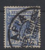 Deutsche Kolonien Samoa Vorläufer V 48 b APIA Kaiserl. Deutsche Postagentur