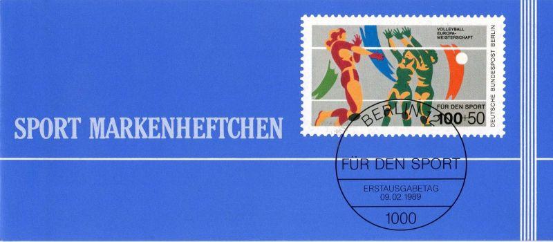 Berlin (West): MiNr. DSH-MH 12 b (MiNr. 836), Markenheftchen