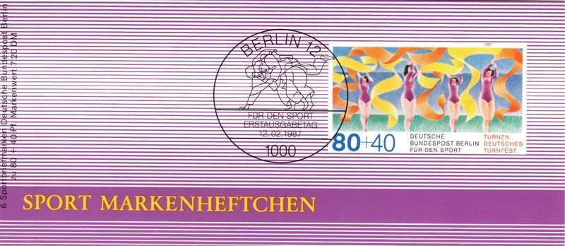 Berlin (West): MiNr. DSH-MH 9 b (MiNr. 777), Markenheftchen