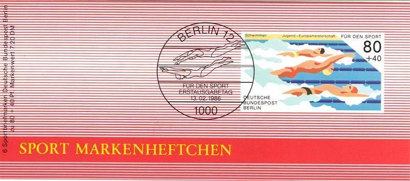 Berlin (West): MiNr. DSH-MH 8 b (MiNr. 751), Markenheftchen