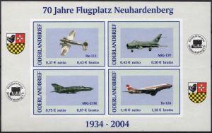 Oderlandbrief: MiNr. 3 B - 4 B,