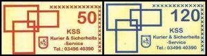 KSS GmbH: MiNr. 19 I - 20 I,