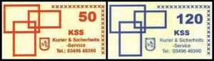 KSS GmbH: MiNr. 19 II - 20 II,