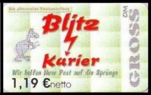 Blitz-Kurier: MiNr. 12 B,