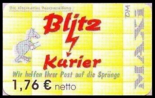 Blitz-Kurier: MiNr. 13 B,