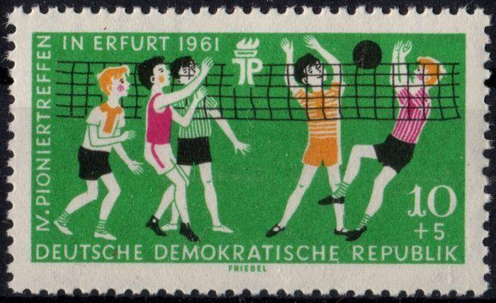 DDR: MiNr. 827 X, 09.05.1961,